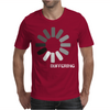 Buffering  Funny retro loading computer console fashion party Mens T-Shirt