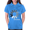 Buffering  Funny retro loading computer console fashion party Womens Polo