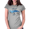 buick 1953 vintage color Womens Fitted T-Shirt