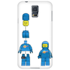 Buildling Benny the blue spaceman Phone Case