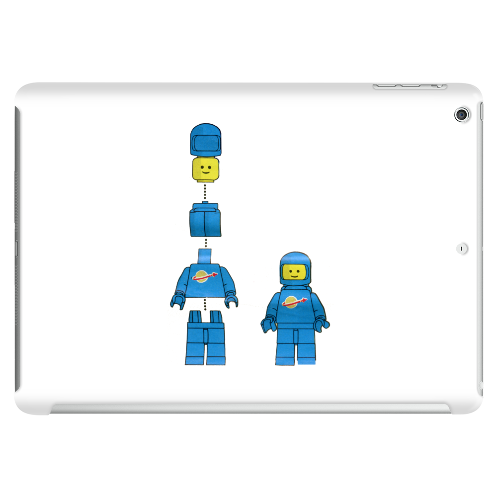 Buildling Benny the blue spaceman Tablet (horizontal)