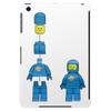 Buildling Benny the blue spaceman Tablet (vertical)