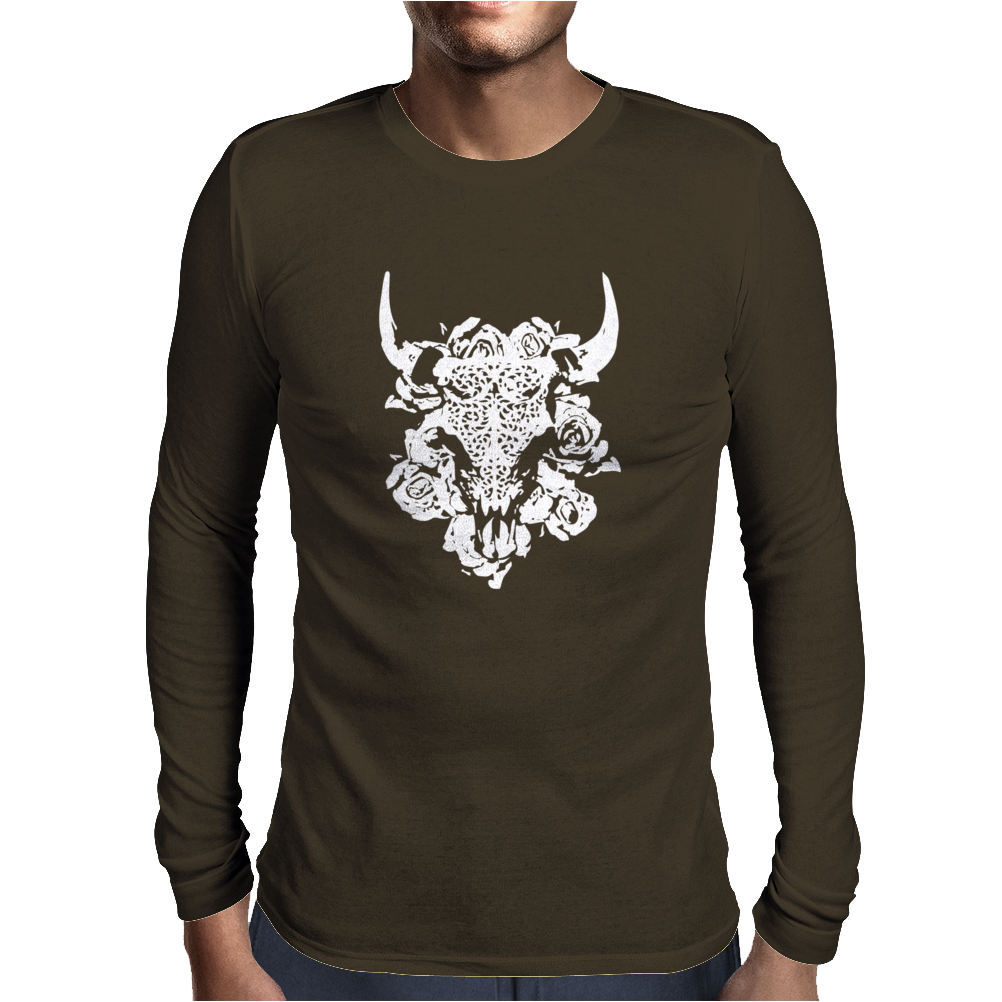 Bull BUFFALO Mens Long Sleeve T-Shirt