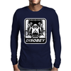 BULL DOG DISOBEY Mens Long Sleeve T-Shirt