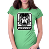 BULL DOG DISOBEY Womens Fitted T-Shirt