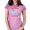 Bulldog Long Sleeve Womens Fitted T-Shirt