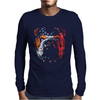 Bulldog Puppy Dog Big Mens Long Sleeve T-Shirt