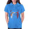 Bulldog Puppy Dog Big Womens Polo