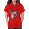 Bulldog Wearing Bandana Cool Dog Puppy Animal Lovers Womens Polo