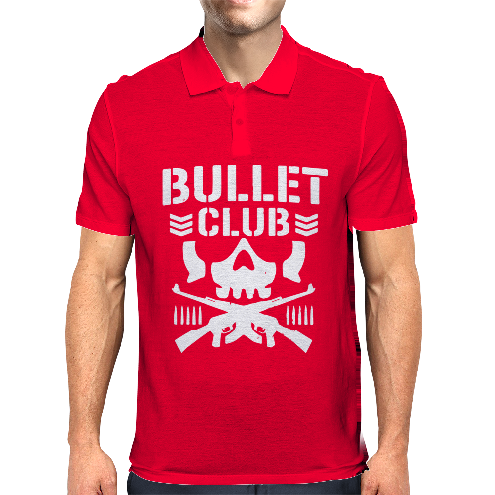 Bullet Club New Japan Pro Wrestling Mens Polo