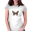 Bullet With Butterfly Wings Womens Fitted T-Shirt