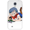 Bulma and Chibi Vegeta Phone Case