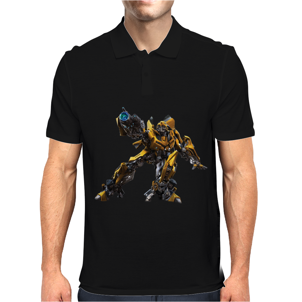 Bumblebee Transformers Mens Polo