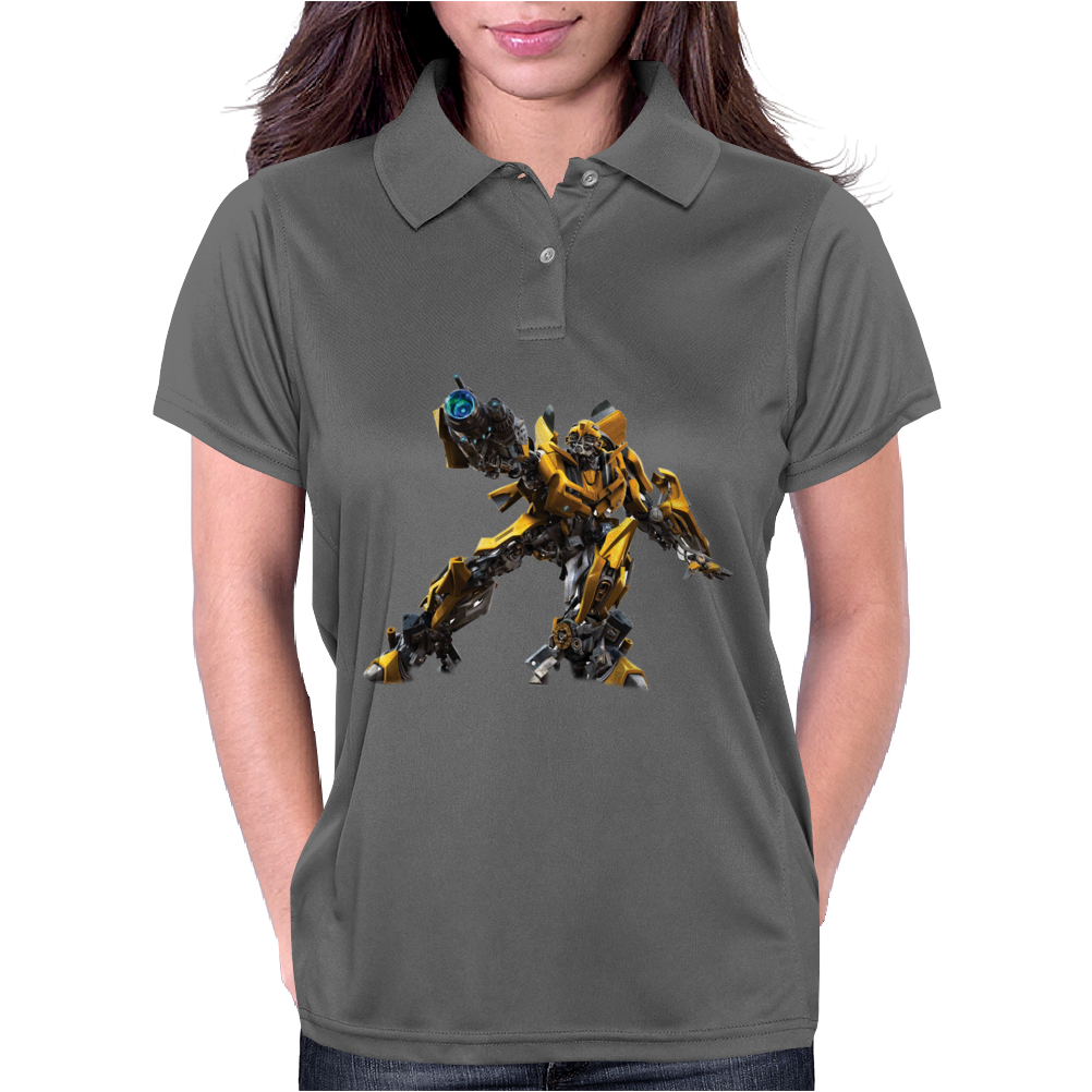 Bumblebee Transformers Womens Polo
