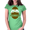 Bunny In The Egg Womens Fitted T-Shirt