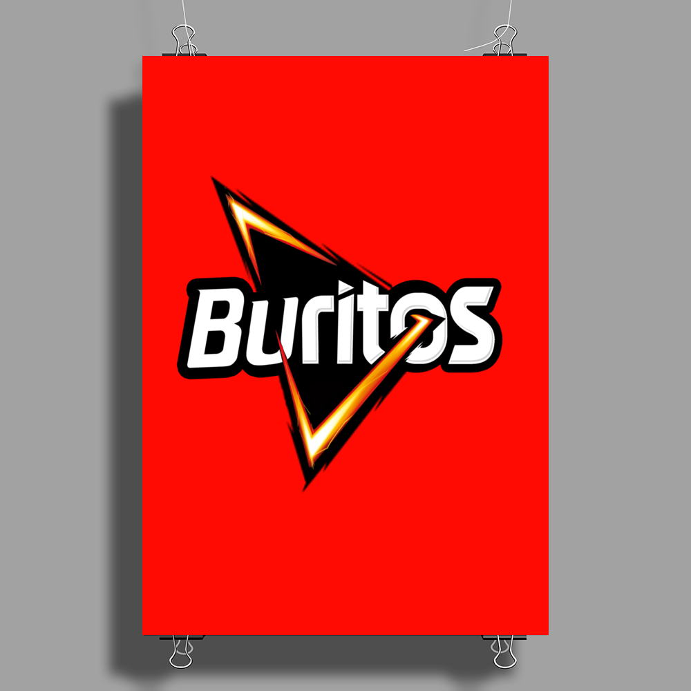 Buritos Poster Print (Portrait)