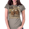 Burrowing Owls Womens Fitted T-Shirt