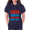 Bush Clinton Large Womens Polo