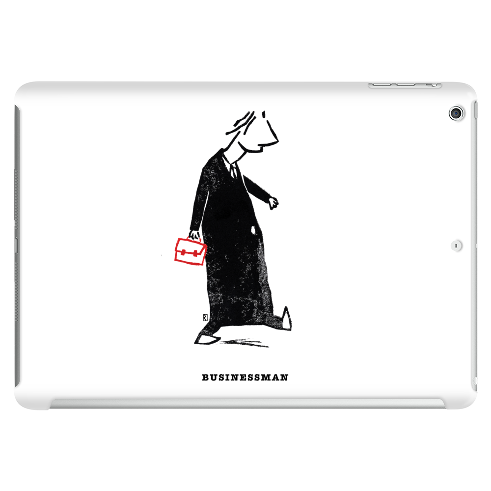 Businessman Tablet (horizontal)