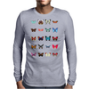 Butterflies Mens Long Sleeve T-Shirt