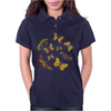 Butterflies Pattern Womens Polo