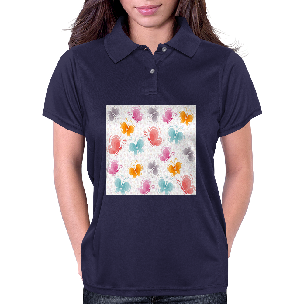 Butterflies Womens Polo