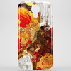 Butterfly grunge Phone Case