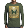 Butterfly Mens Long Sleeve T-Shirt