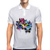 Butterfly woman Mens Polo