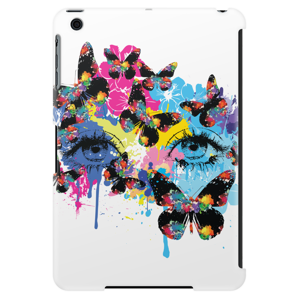 Butterfly woman Tablet (vertical)