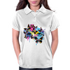 Butterfly woman Womens Polo