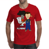 Butthole's Plumbing Mens T-Shirt