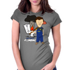 Butthole's Plumbing Womens Fitted T-Shirt
