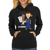 Butthole's Plumbing Womens Hoodie