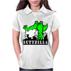 ButtZilla Fire Womens Polo