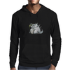 Buuu Moonlight Monster darconia Mens Hoodie