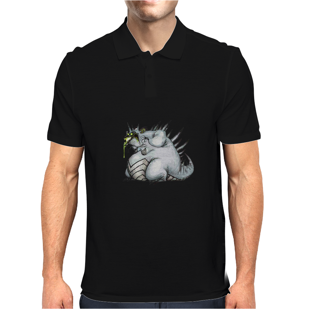Buuu Moonlight Monster darconia Mens Polo