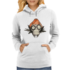 Buuu Moonlight Monster Florecilla Womens Hoodie