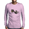 Buuu Moonlight Monster fox Mens Long Sleeve T-Shirt