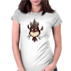 Buuu Moonlight Monster gallina Womens Fitted T-Shirt