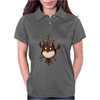 Buuu Moonlight Monster gallina Womens Polo