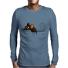 Buuu Moonlight Monster mouse Mens Long Sleeve T-Shirt