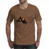 Buuu Moonlight Monster mouse Mens T-Shirt
