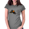 Buuu Moonlight Monster mouse Womens Fitted T-Shirt