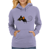 Buuu Moonlight Monster mouse Womens Hoodie
