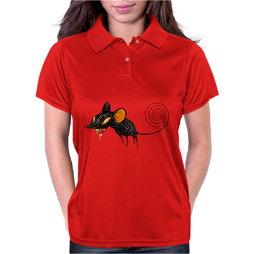 Buuu Moonlight Monster mouse Womens Polo