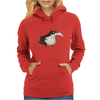 Buuu Moonlight Monster pajarraco Womens Hoodie