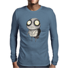 Buuu Moonlight Monster tortuguita Mens Long Sleeve T-Shirt