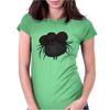 Buuu Moonlight Monster trufo Womens Fitted T-Shirt