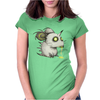 Buuu Moonlight Raton Zomby Womens Fitted T-Shirt